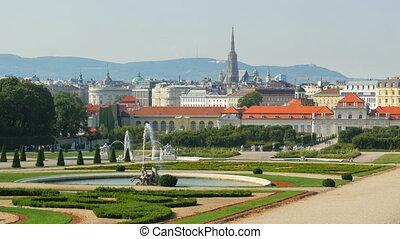 """belvedere palace, vienna, austria, 4k"""