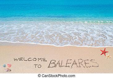 bem-vindo, para, baleares