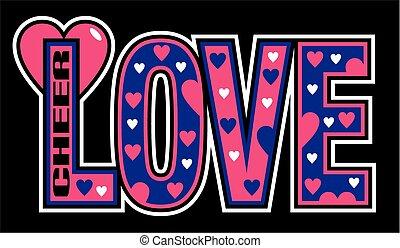 bemoedigen, liefde
