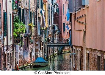 benátský, architektura, italský
