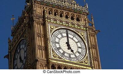 ben, horloge, grand, londres, royaume-uni, tour