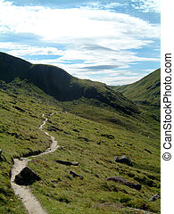 Ben Lawers Path - Footpath on Ben Lawers, Scotland