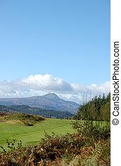 Ben Lomond from golf course vert - Ben Lomond from Aberfoyle...