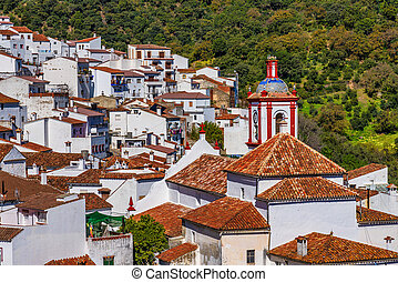 Benarraba white village in Malaga province, Andalusia, Spain in Europe