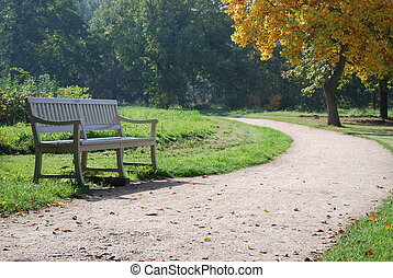 Bench at the park