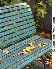Bench in Autumn