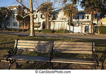 Bench in Charleston