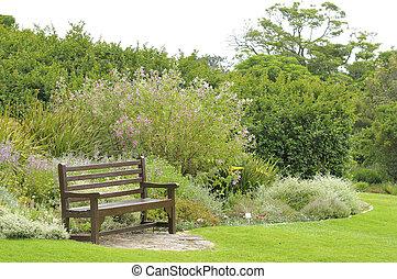 Bench in Kirstenbosch