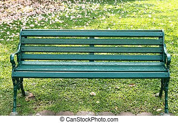 Bench in the Gardens
