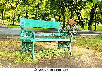 Bench in the park