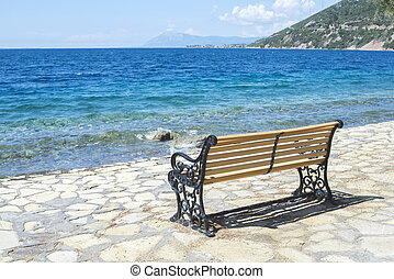 Bench on the beach