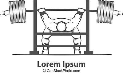 bench press powerlifting - powerlifting bench press figure...