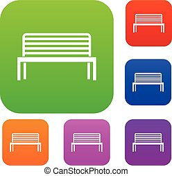 Bench set collection