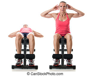 Bench Sit-Up
