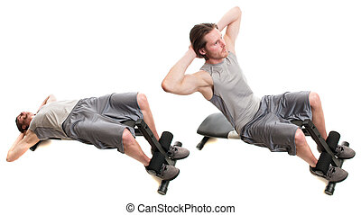 Bench Sit Up