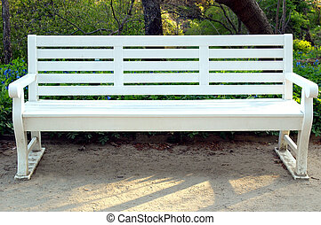 Bench - A bench chair used in stations and public parks
