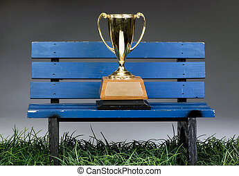Bench Trophy. - Everybody wins a trophy these days.