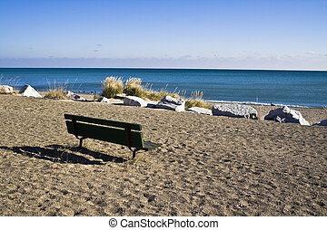 Bench vith a view