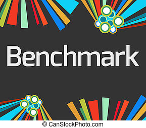 Benchmark Dark Colorful Elements