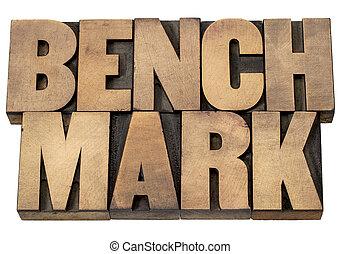 benchmark, woord