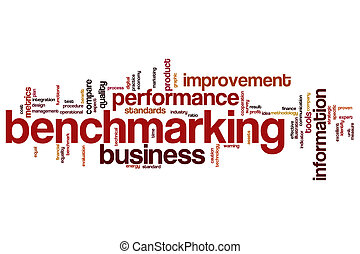 Benchmarking word cloud - Benchmarking concept word cloud...