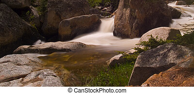 Bend in a Rocky River
