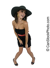 bending model with hat