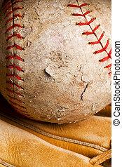 bene-usato, softball, in, manopola