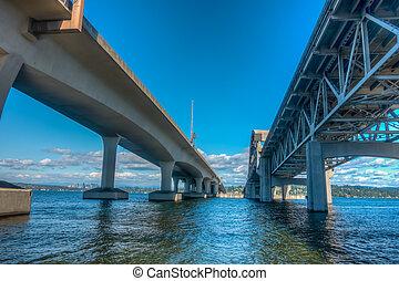 Beneath A Seattle Bridge HDR 2