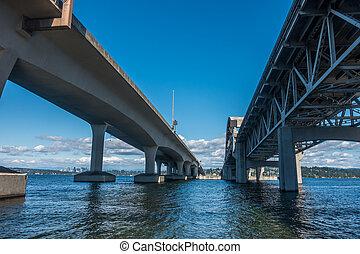 Beneath Highway Bridge 3