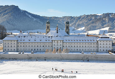 Benedictine Abbey of Einsiedeln, Switzerland