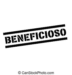 beneficial stamp in spanish