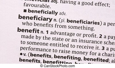 Benefit highlighted in green