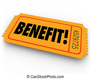 Benefit Raffle Ticket Charity Fundraiser Enter to Win Prize...