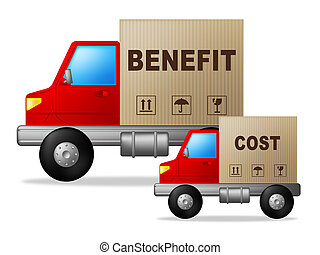 Benefit Versus Cost Product Means Value Gained Over Money...