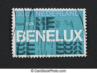Benelux postage stamp
