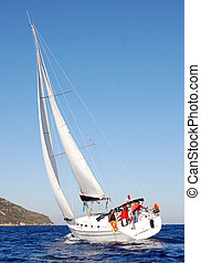 Beneteau Cyclades 43 Sailing Boat
