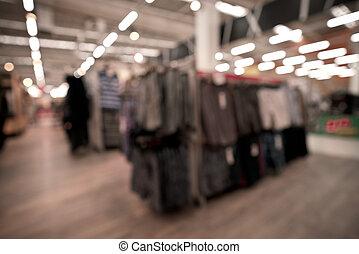 benevelde beeld, van, de opslag van de kleding