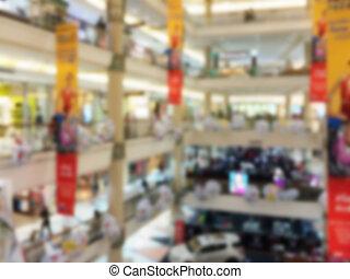 benevelde beeld, van, het winkelen wandelgalerij, achtergrond