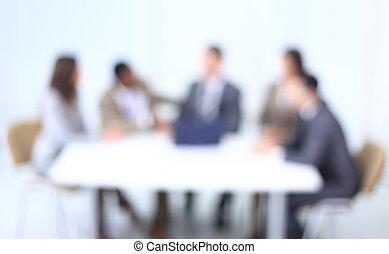 benevelde beeld, van, zakelijk, team.business, achtergrond