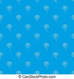 Bengal fire pattern seamless blue