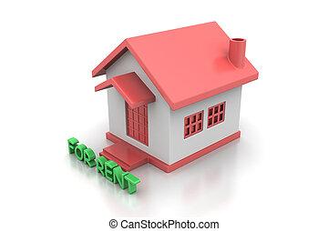 Beni immobili casa rendering rent 3d beni immobili for Aprire piani casa concetto