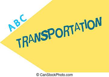 beni, mezzi, testo, esposizione, veicoli, sistema, segno, trasportare, foto, concettuale, transportation.