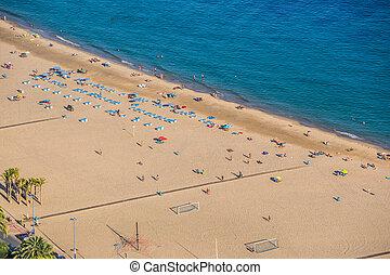 Benidorm,  levante,  Alicante, plage, espagne