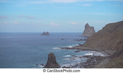Benijo beach in Tenerife