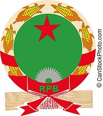 Benin National Army Emblem vector