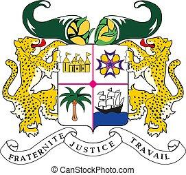 Benin National Emblem vector illustration EPS10