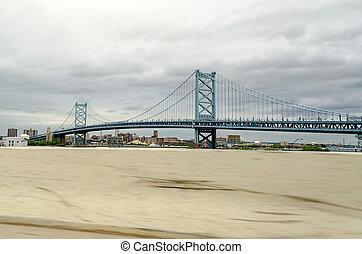 Benjamin Franklin Bridge, Philadelphia, USA