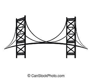 Benjamin Franklin Bridge, the symbol of Philadelphia....