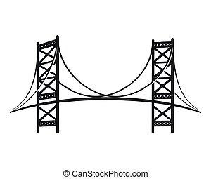 Benjamin Franklin Bridge, the symbol of Philadelphia. ...